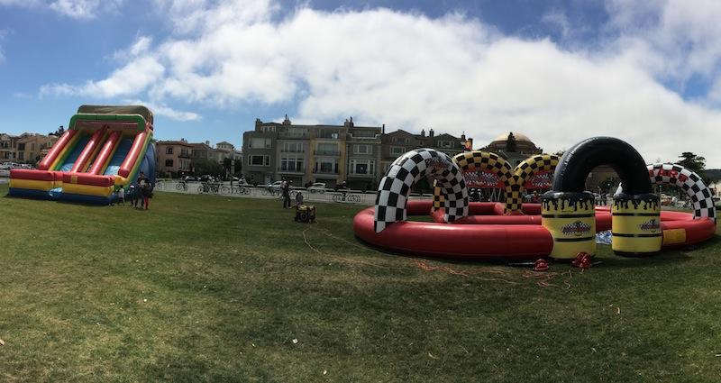 Road Rally & Giant Slide